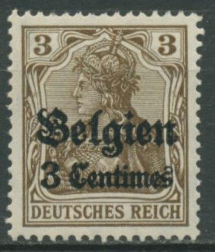 Brief Nach Belgien Frankieren : Landespost in belgien briefmarken dr rohde kornatz kassel